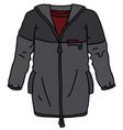 the dark sport jacket vector image vector image