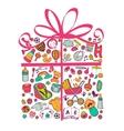 Gift for babygirl vector image