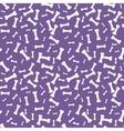 Dog bone Seamless anilams pattern vector image