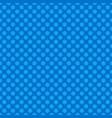 Blue seamless retro stylized snow flake pattern