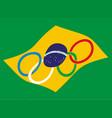 brazil olympics vector image