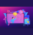 how-to videos concept vector image vector image