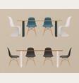 interior creator dinning room vector image