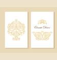 ornamental decorative frame luxury floral vector image vector image