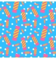 Sweet candy seamless pattern Colorful sugar wrap vector image