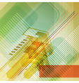 Abstract digital design with arrows vector image vector image