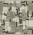 abstract squares seamless vitage grey vector image vector image