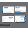 Business Card template set 57 vector image vector image