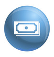 dollar icon simple style vector image