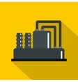 Equipment for production oil icon flat style vector image vector image