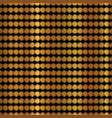 gold copper geometric stripes pattern hand vector image vector image