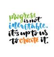 inspirational and motivational handwritten vector image vector image