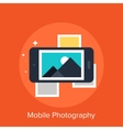 Mobile Photography vector image