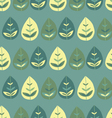 Seamless pattern Cute forest vector image vector image