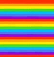 seamless pattern in lgbt flag colors vector image