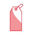 shopping label tag vector image vector image