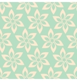 Simple flower seamless pattern vector image vector image