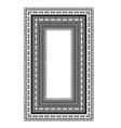 Vintage Frame Isolated vector image vector image