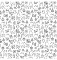 merry xmas seamless pattern background vector image