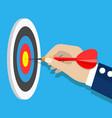 business achievement success concept vector image vector image