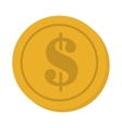 currency coins money cash design vector image