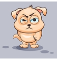 Dog is angry vector image vector image