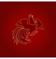 Fire Rooster 2017 vector image vector image