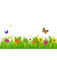 Fresh Nature Landscape vector image vector image