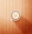 good morning coffee break Hot Coffee cup vector image vector image