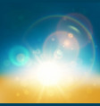 lens flare abstract background vector image vector image