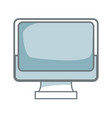 monitor screen blank device work wireless vector image vector image
