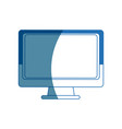monitor screen computer device technology vector image vector image