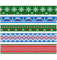 new year and christmas party flat style vector image vector image