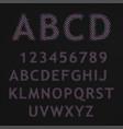 Raster letters