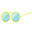 sunglasses hand drawn design on white background vector image vector image
