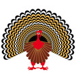 a happy thanksgiving celebration design with vector image vector image
