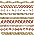 African geometric ornament seamless