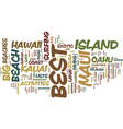 best of hawaii itinerary ideas for the traveler vector image vector image