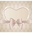 Card with paper heart vector | Price: 1 Credit (USD $1)