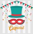 carnival festival concept vector image vector image