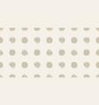 casual polka dot texture vector image