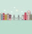 City Environment vector image vector image