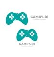 Game controller logo template Joystick icon vector image vector image