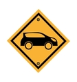 car parking signal icon vector image