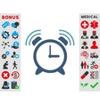 Alarm Clock Ring Icon vector image