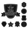 design emblem and badge symbol set of vector image