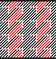 geometric stripes vector image vector image