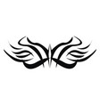 ornament tattoo hand drawn design on white vector image