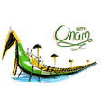 snakeboat race in onam celebration background for