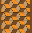 stylish background with small triangular shapes vector image vector image